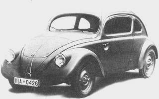 Vw Volkswagen From 1932 To 1960 Dastank Com