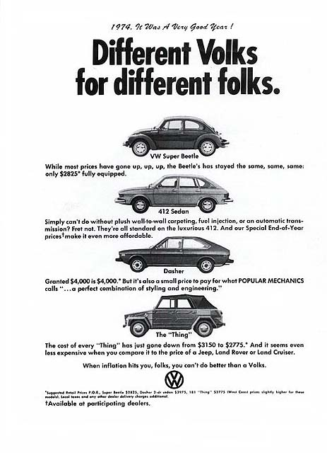 vw thing s brochures dastank dastank com vw thing type 181 vw thing b w ad > click image to enlarge
