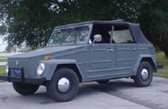 vw thing for dastank com vw thing type 181 1973 thing restored and made to look like the old german kubelwagen painted gun metal 1973 vw thing