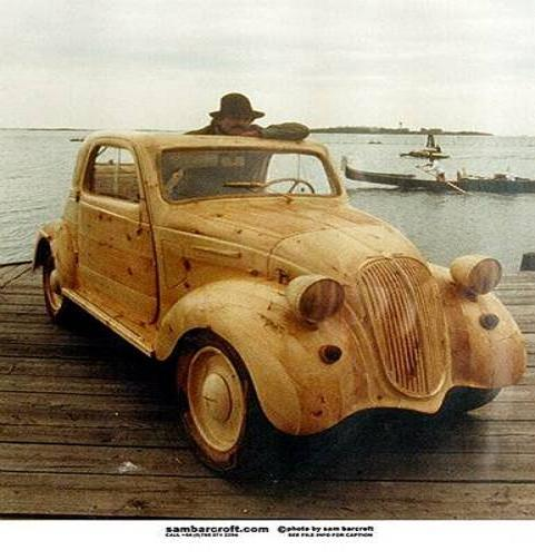 Volkswagen Thing For Sale >> Wooden VW Bug Sam Barcroft @ DasTank.com VW Thing Type 181