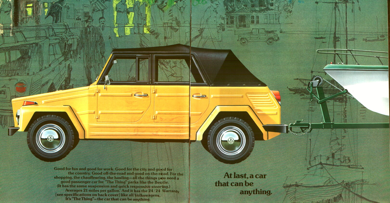 VW Thing Sales Brochures DasTank DasTankcom VW Thing Type 181